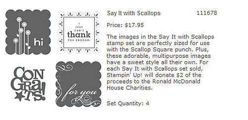 Say it with Scallops