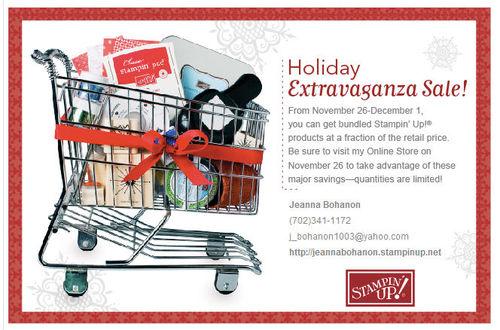 Holiday Exstravaganza Sale