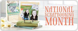 Natnl Scrapbook Month