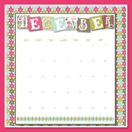 December Calendar-001