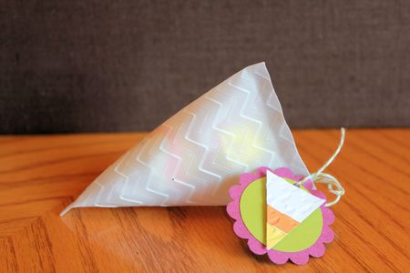 Stampin' Up! Sour Cream Container Candy Corn