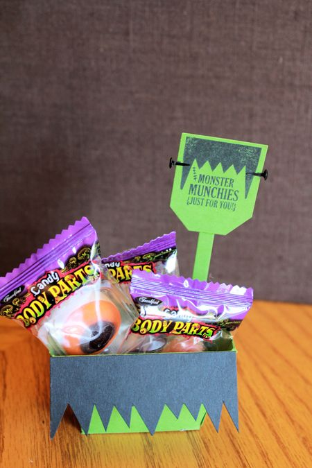 Stampin' Up! Monster Munchies Frankie treat