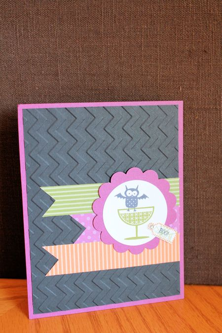 Be of Good Cheer Halloween Stampin' Up! card