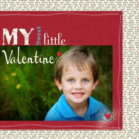 MDS Blog Hop, Valentine Scrapbook, More Amore, Stampin' Up!