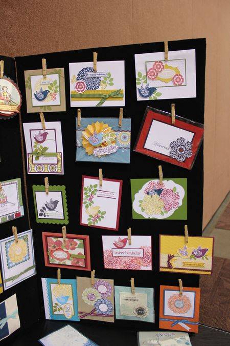Stampin' Up! displays, St George event, Betsy's Blossoms