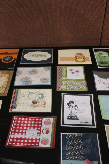 Jill Olsen St. George Stamping Event 2012