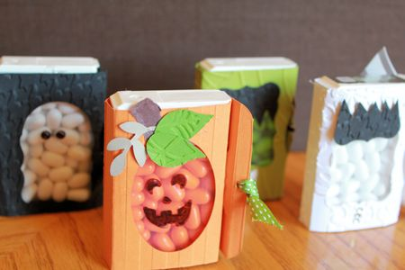Stampin' Up! Halloween Tic Tac Holders
