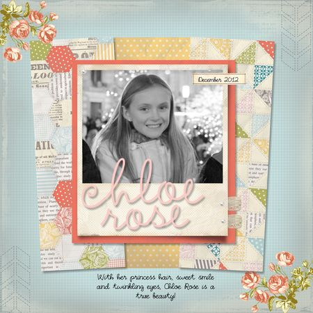 Tea TIme Suite, My Digital Studio, Scrapbook layout, Jeanna Bohanon, My Digital Studio