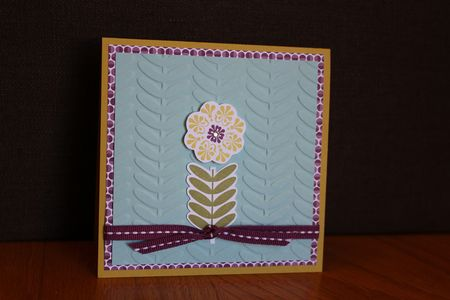 Stampin' Up! Madison Avenue card